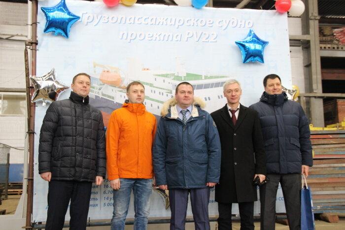 В Санкт-Петербурге заложили грузопассажирское судно для Сахалина