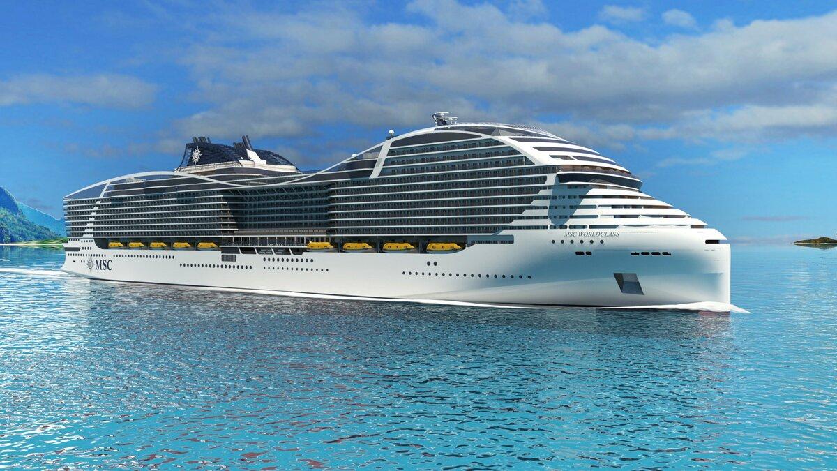 MSC Сruisers построит два гигантских лайнера Worldclass до 2025 года