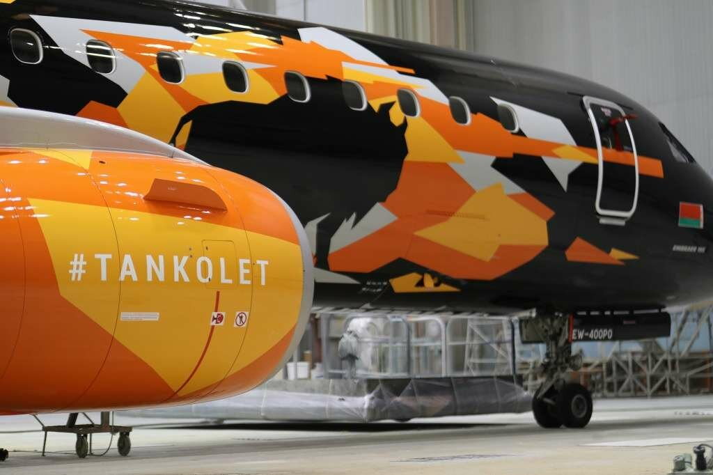 Авиакомпания «Белавиа» получила второй «танколет»