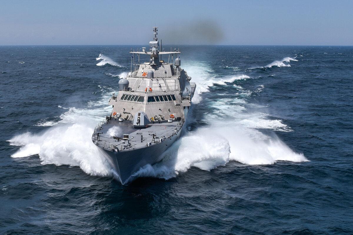 ВМФ США получили десятый корабль проекта LCS Freedom