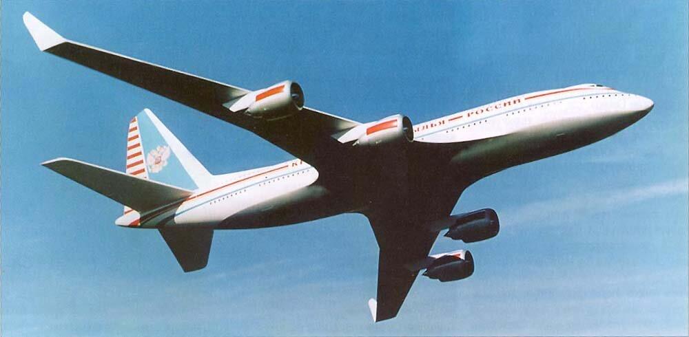 российский амбициозный проект двухпалубного самолета-гиганта