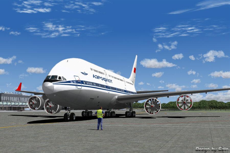 Ил-196: несостоявшийся российский конкурент Airbus A380