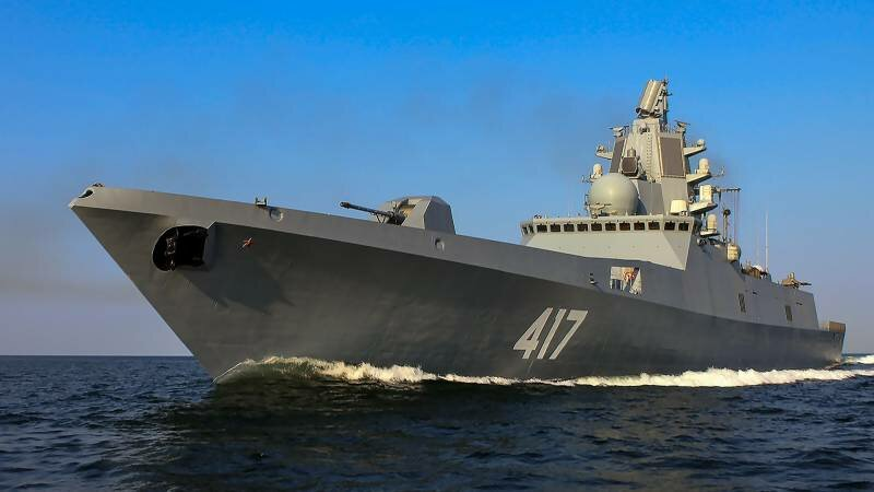 Фрегат-полукровка: в России проектируют супер-фрегат с характеристиками эсминца
