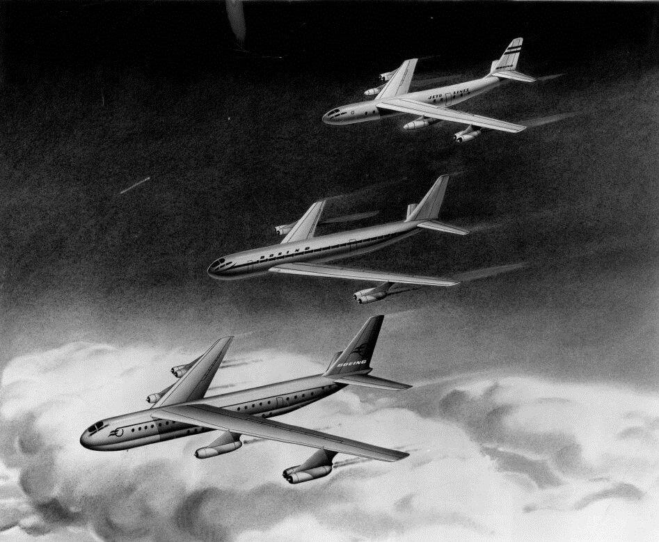 Boeing Model 473: как в Boeing пытались создать реактивный лайнер из стратегического бомбардировщика