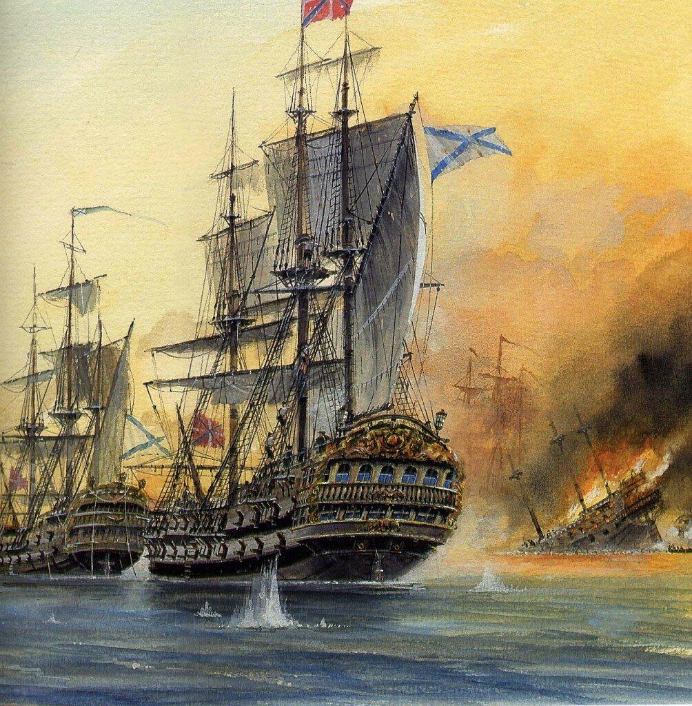 Линейный корабль «Рождество Христово»: восемь фактов о легендарном флагмане адмирала Ушакова