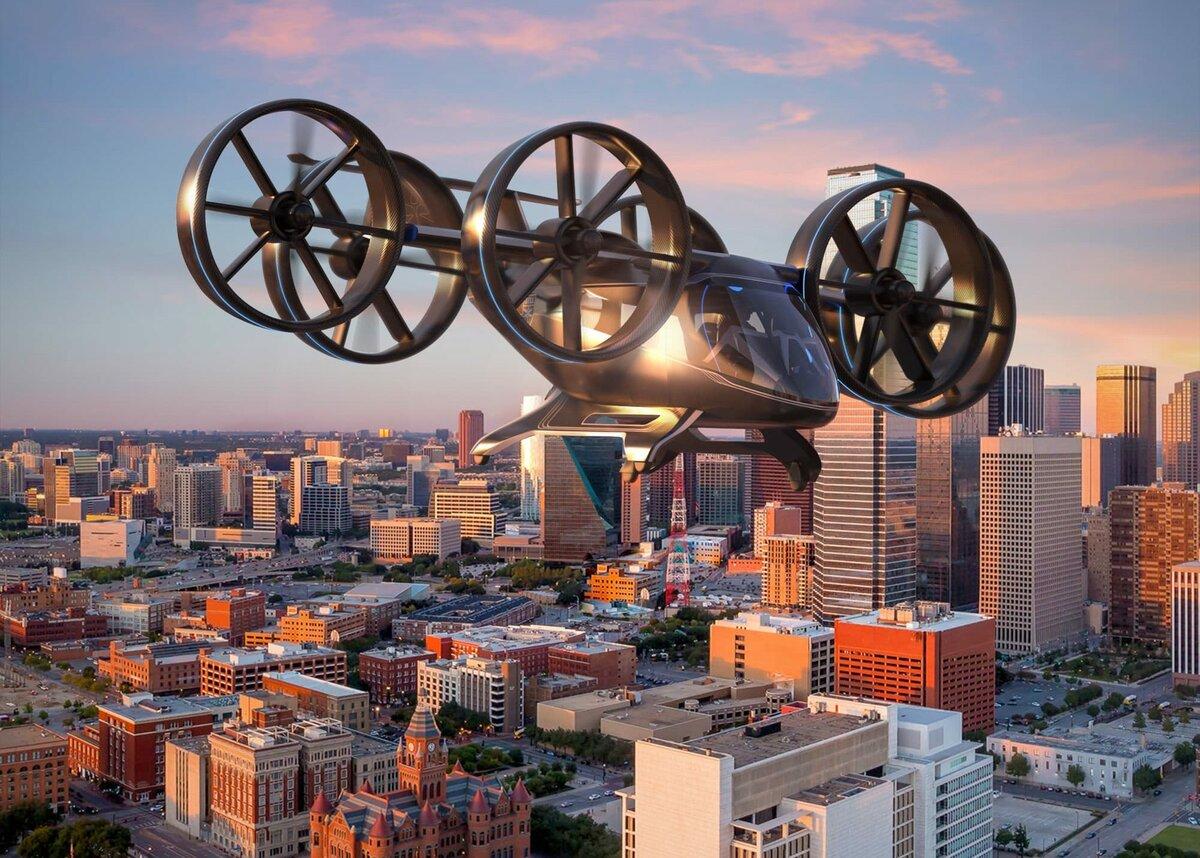 Bell Nexus — конвертоплан-аэротакси, приближающий будущее