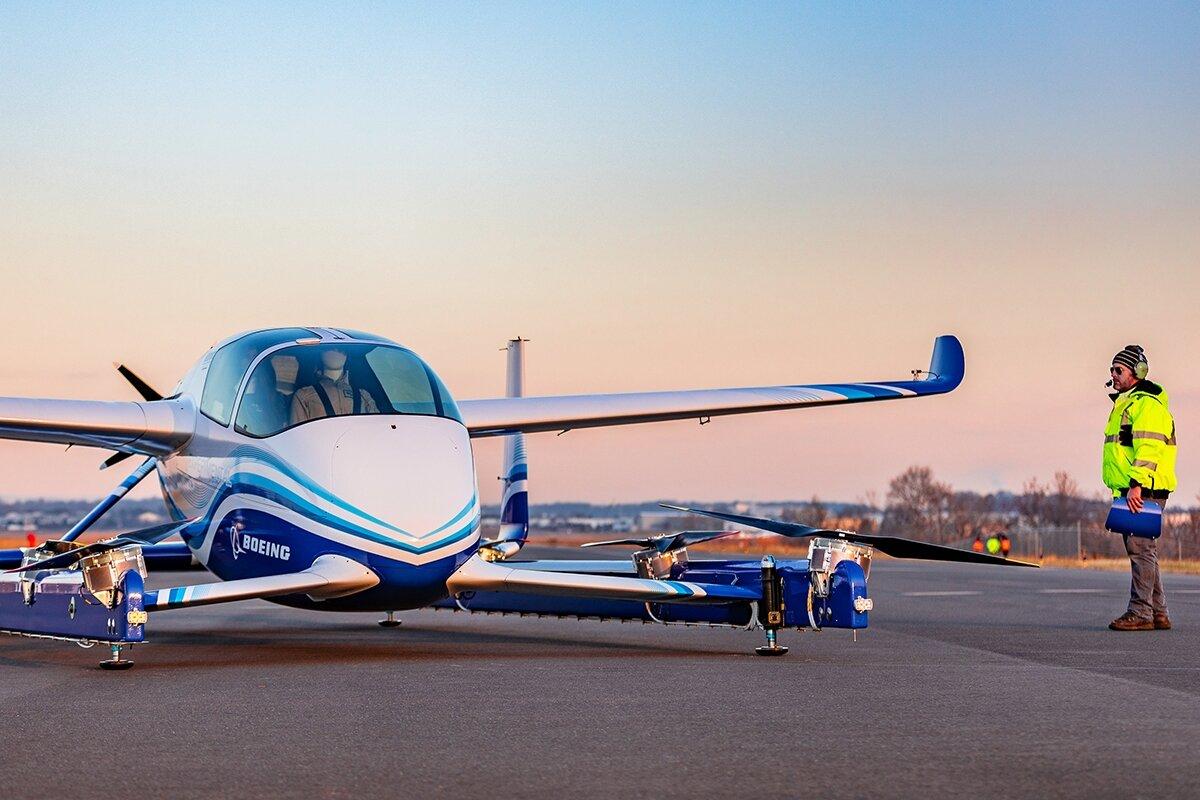 Boeing PAV — летающий автомобиль-беспилотник для аэротакси