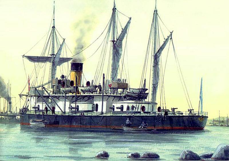 Броненосный фрегат «Адмирал Лазарев»: корабль, не ставший авианосцем