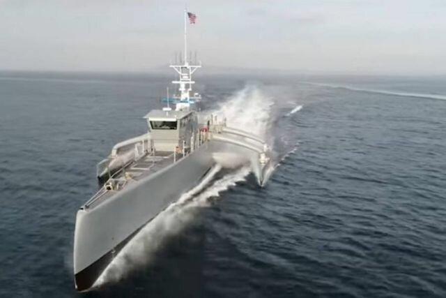 Первый в мире беспилотный морской охотник Sea Hunter преодолел 2300 морских миль