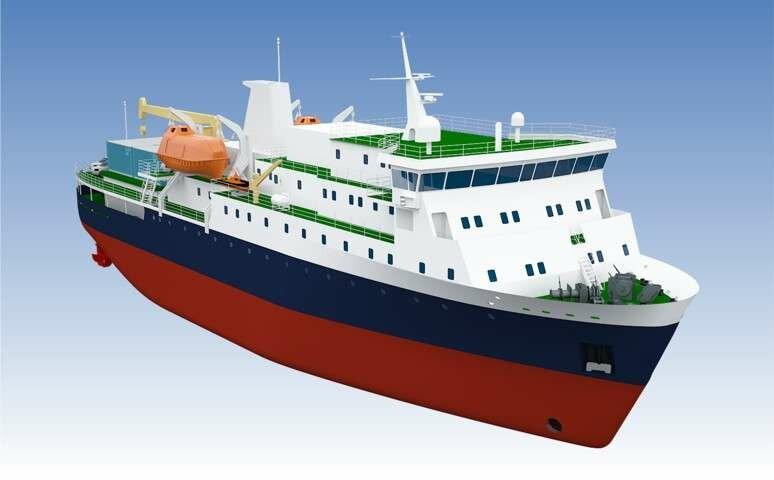 В России построят грузопассажирское судно для Курильских островов