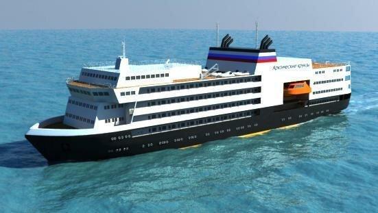 В ЦНИИМФ разработали проект арктического круизного лайнера