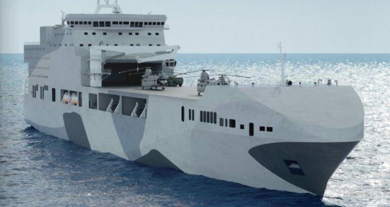 Для ВМФ Великобритании построят пару прибрежных ударных кораблей