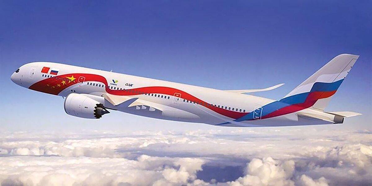 Представлен макет российско-китайского широкофюзеляжного авиалайнера CR929