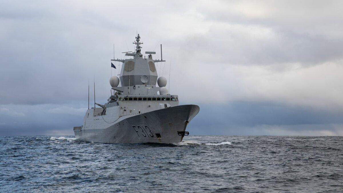 В Норвегии восстановят затонувший фрегат Helge Ingstad