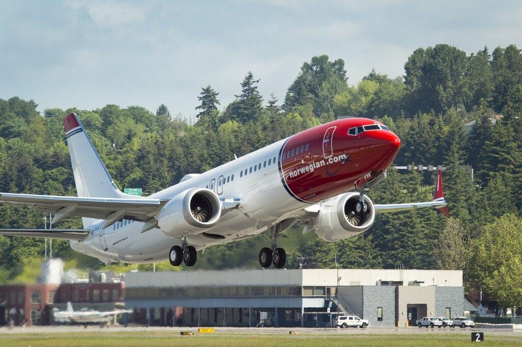 Авиакомпания Norvegian вернула свой застрявший в Иране Boeing 737-MAX8