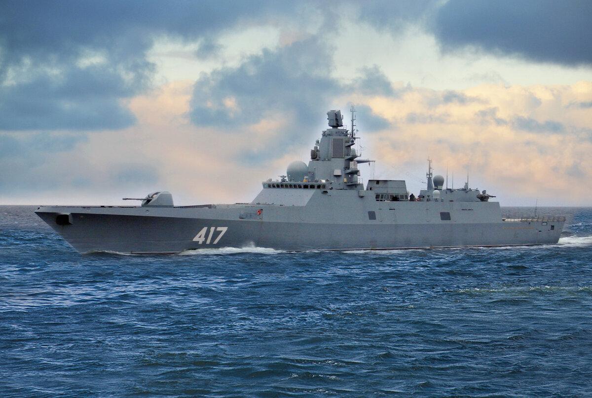 Пять новых кораблей российского ВМФ