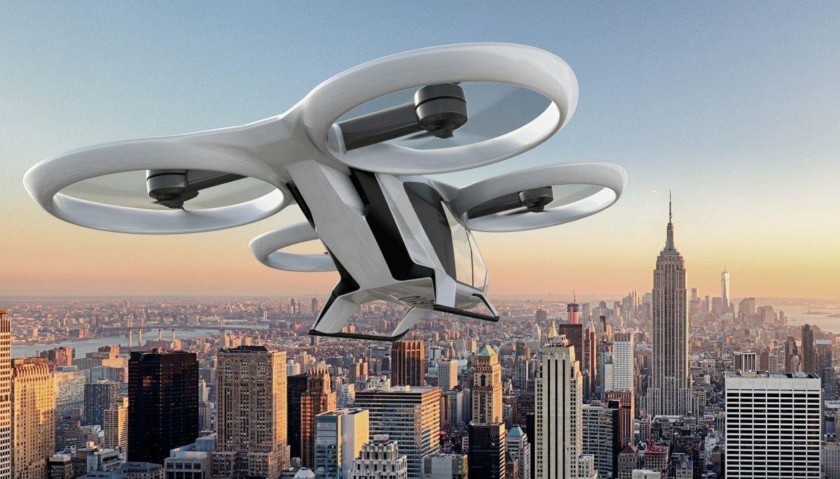 Концерн Airbus тестирует аэротакси собственной разработки — CityAirbus