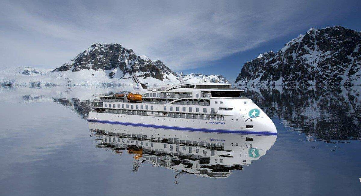 Полярный лайнер Infinity: экспедиционное круизное судно построили в Китае