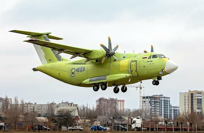 Военно-транспортный Ил-112В совершил первый полет