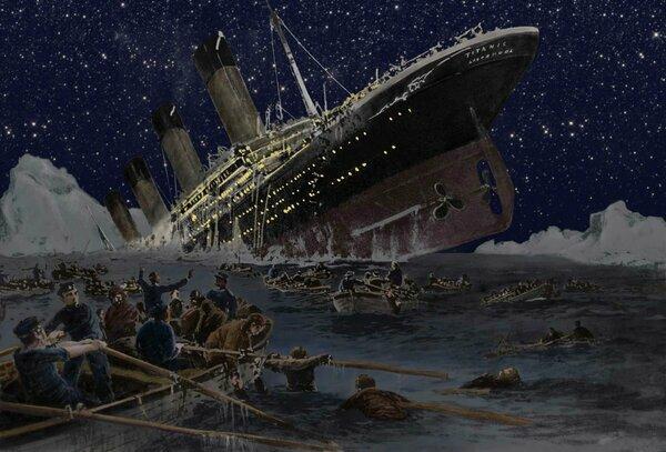 «Титаник» – погиб, но в это поверили не сразу: 107 годовщина со дня гибели знаменитого трансатлантика