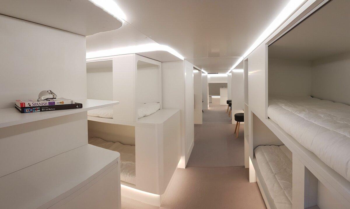 Airbus предлагает возить пассажиров в багажном отсеке самолетов
