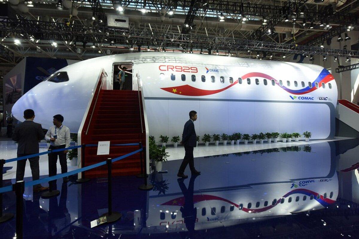 Макет новейшего авиалайнера CR929 представят на МАКС-2019