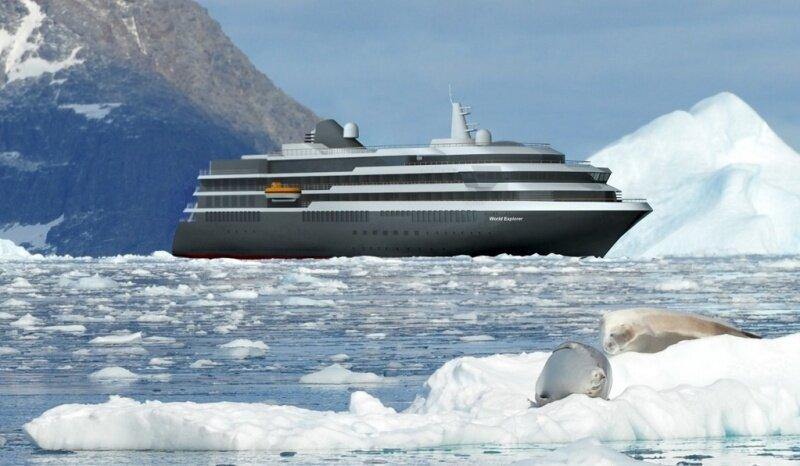 Лайнер World Explorer: небольшое судно для люксового отдыха