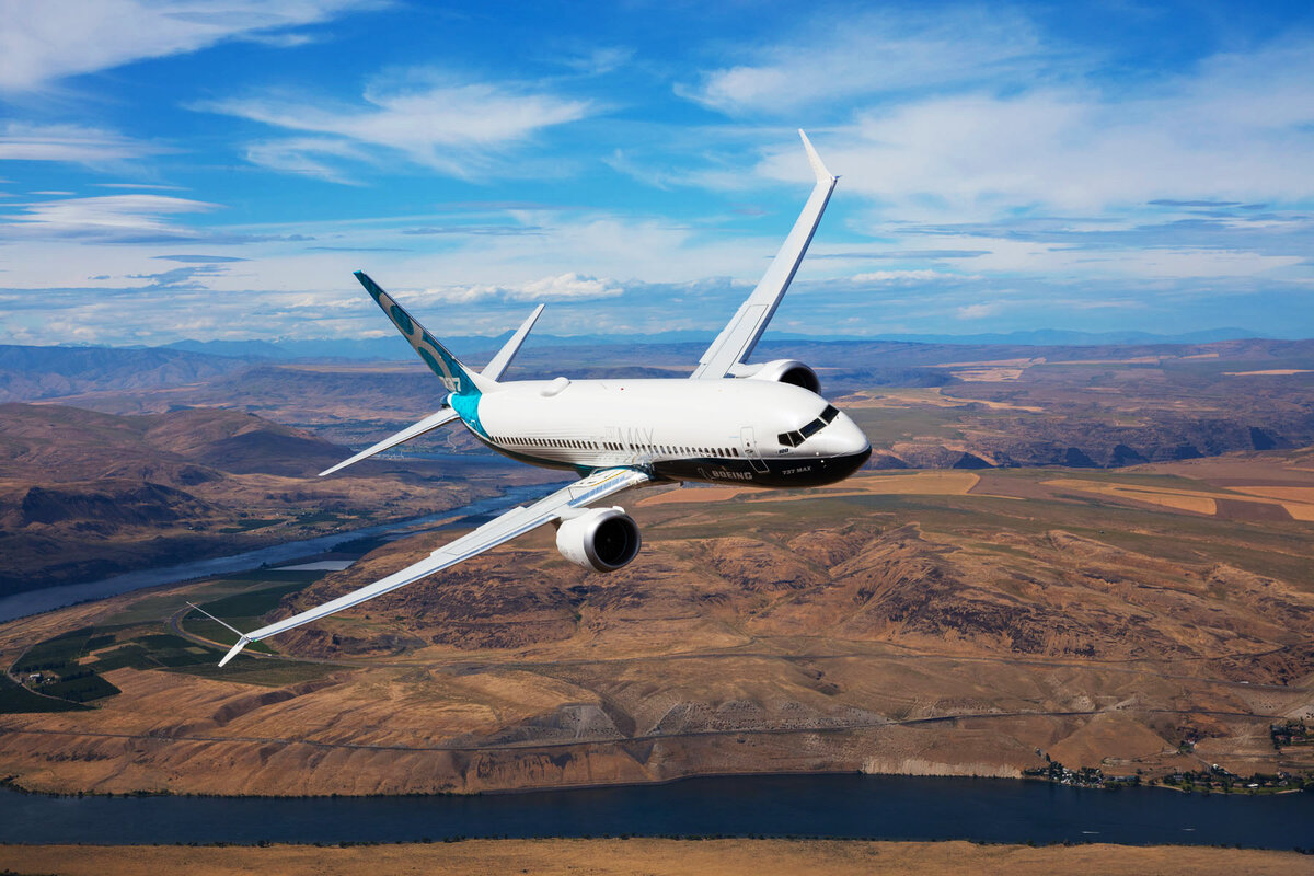 Boeing завершила обновление ПО системы управления Boeing 737 MAX