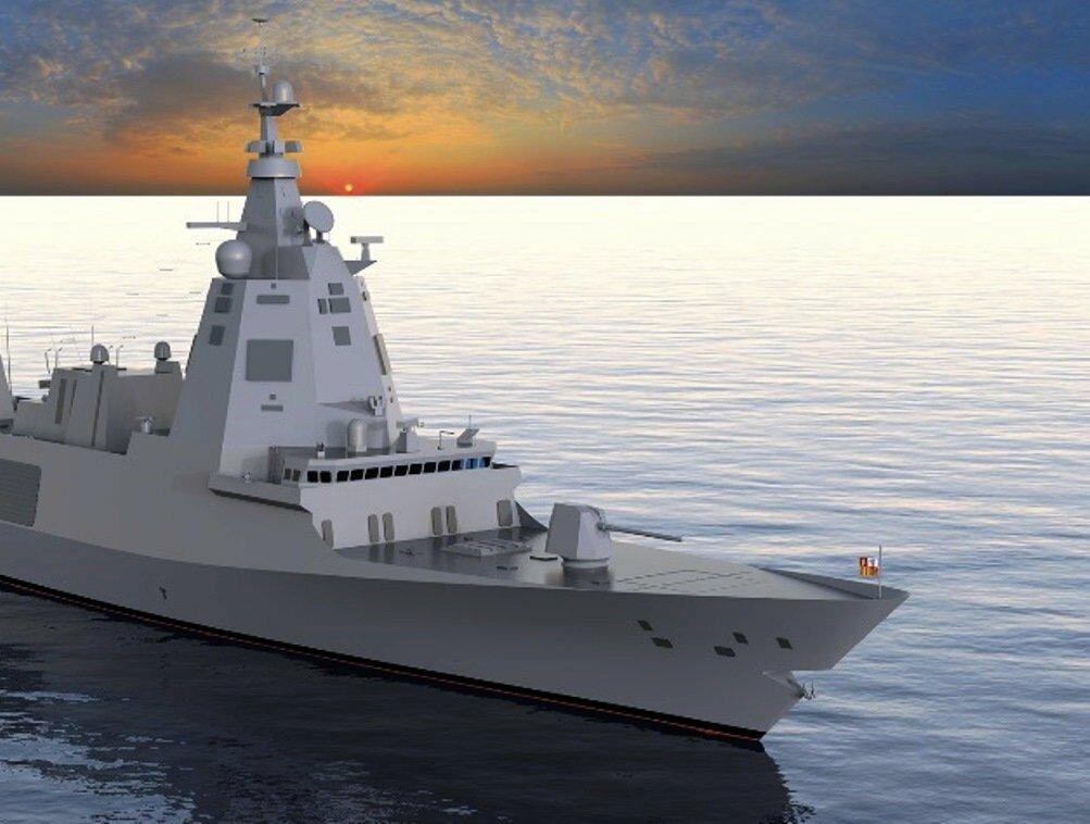 Испанский ВМФ ожидает новые фрегаты типа F-110 в 2024 году
