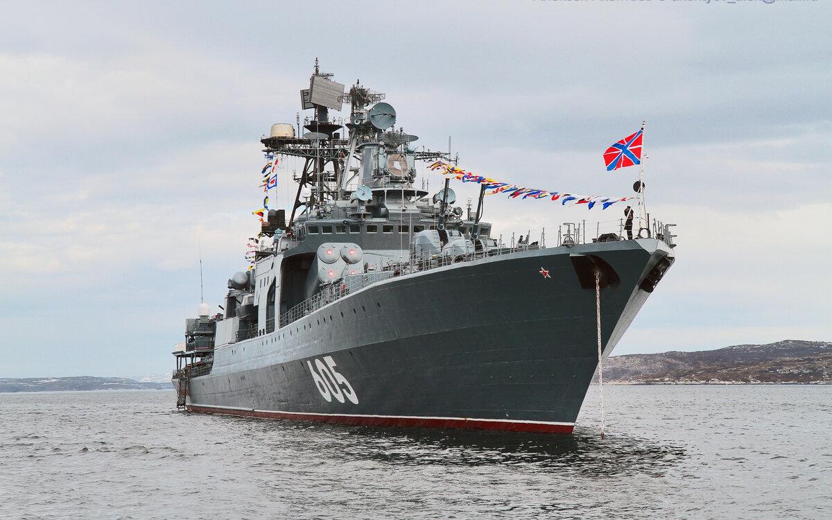 Российский ВМФ из больших противолодочных кораблей делает эсминцы