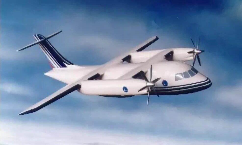 Российский самолет-трансформер: региональный авиалайнер Ту-130/136