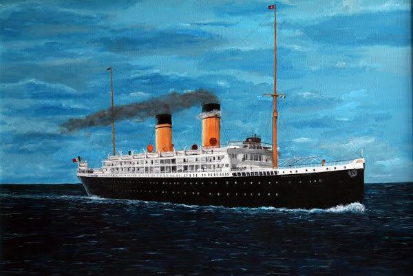 Итальянский трансатлантик SS Principessa Jolanda: со стапеля — на дно