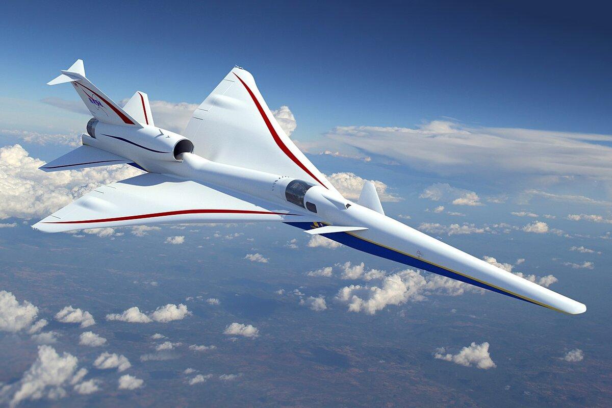 В США начали сборку прототипа суперсоника X-59 QueSST