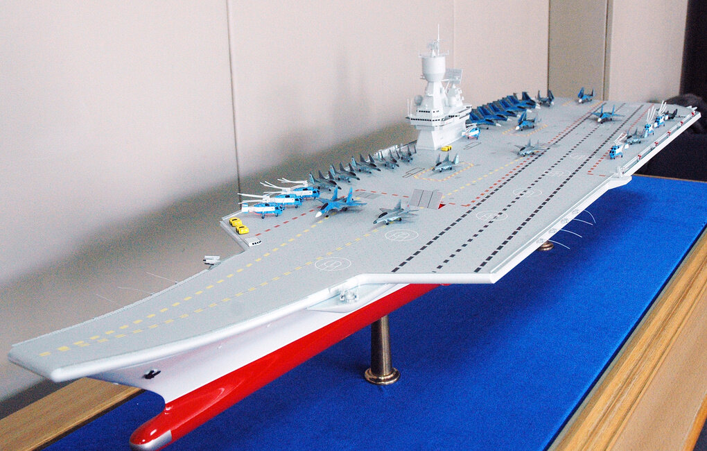 Российский ВМФ построит легкий авианосец-полукатамаран
