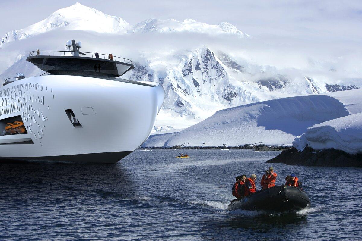 проекты круизного судна для Арктики
