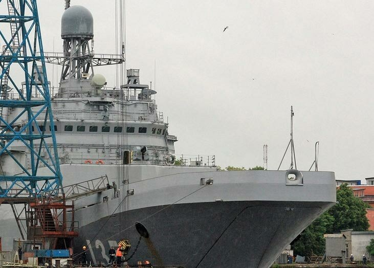 Раскрыт облик новых российских вертолетоносцев проекта 11711