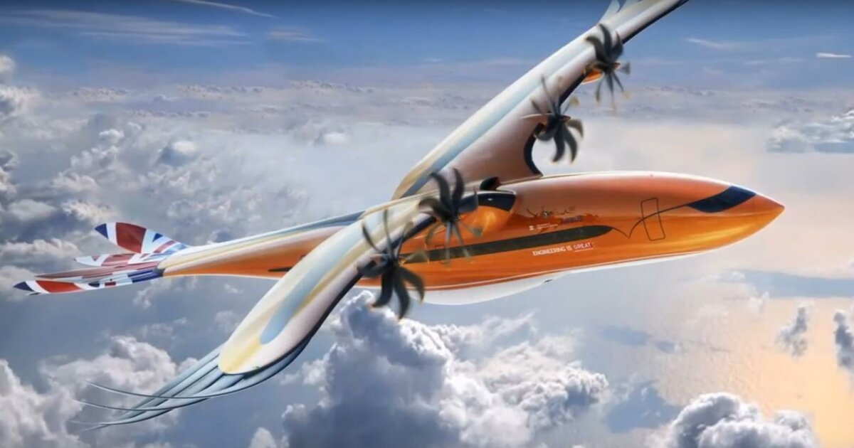 Airbus представил концепт самолета с птичьим оперением