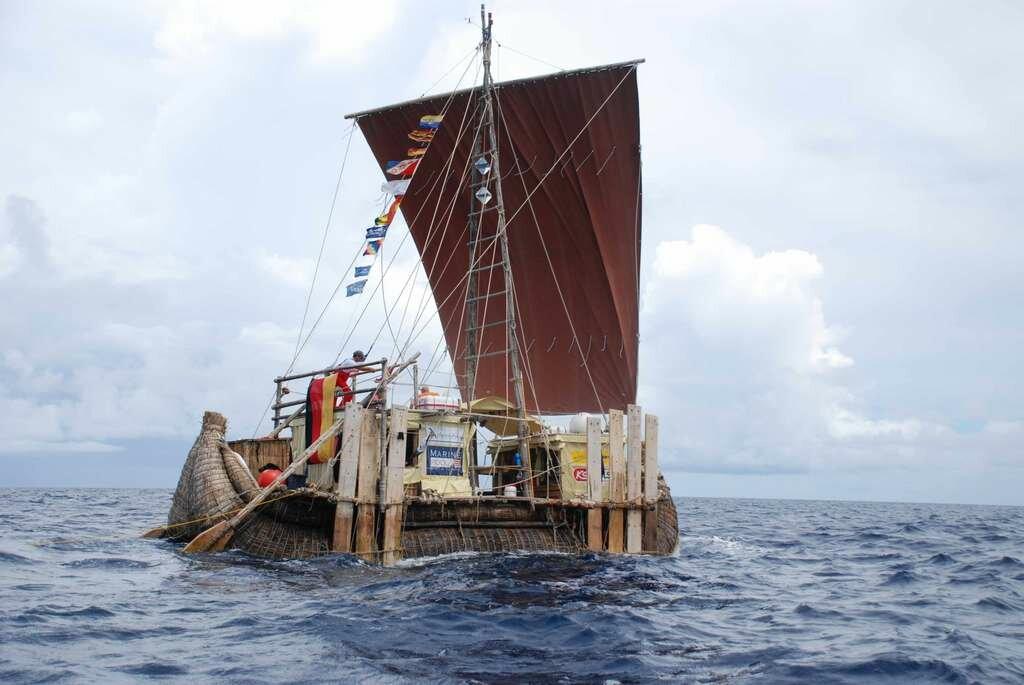 Судно из тростника совершит плавание из Черного в Средиземное море