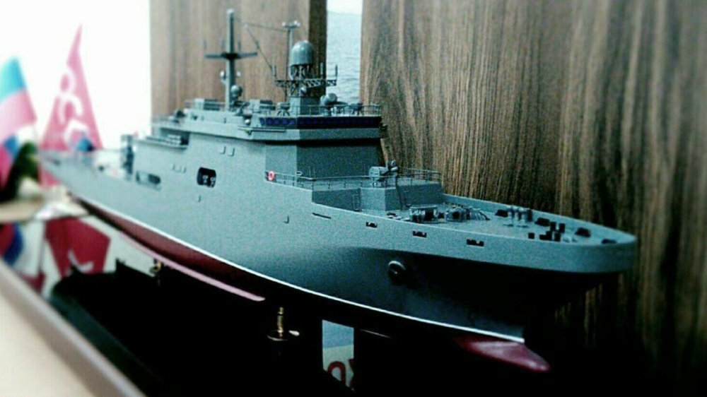 Новые российские большие десантные корабли получили кодовое имя «Кайман»