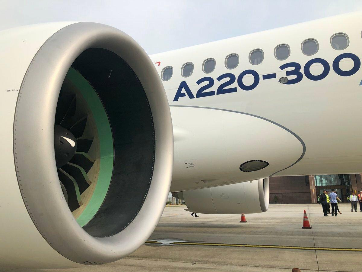 В России собираются сертифицировать Airbus A220