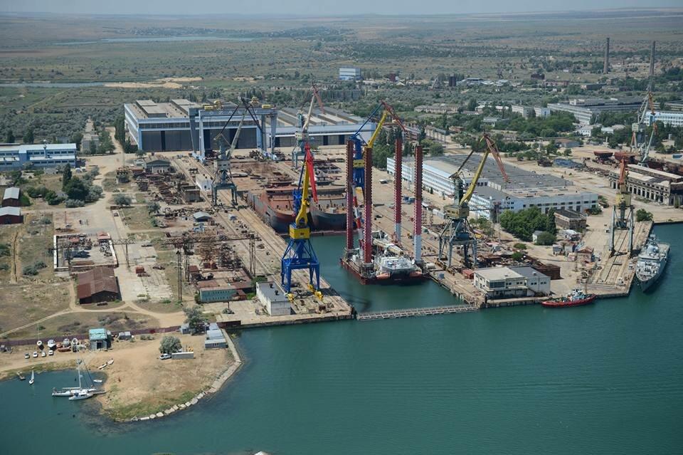 Первые вертолетоносцы для российского ВМФ построят в Керчи