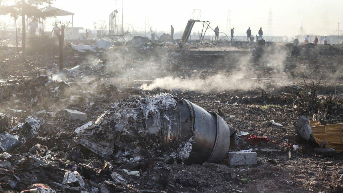 Украинский Boeing мог разбиться в Иране из-за теракта
