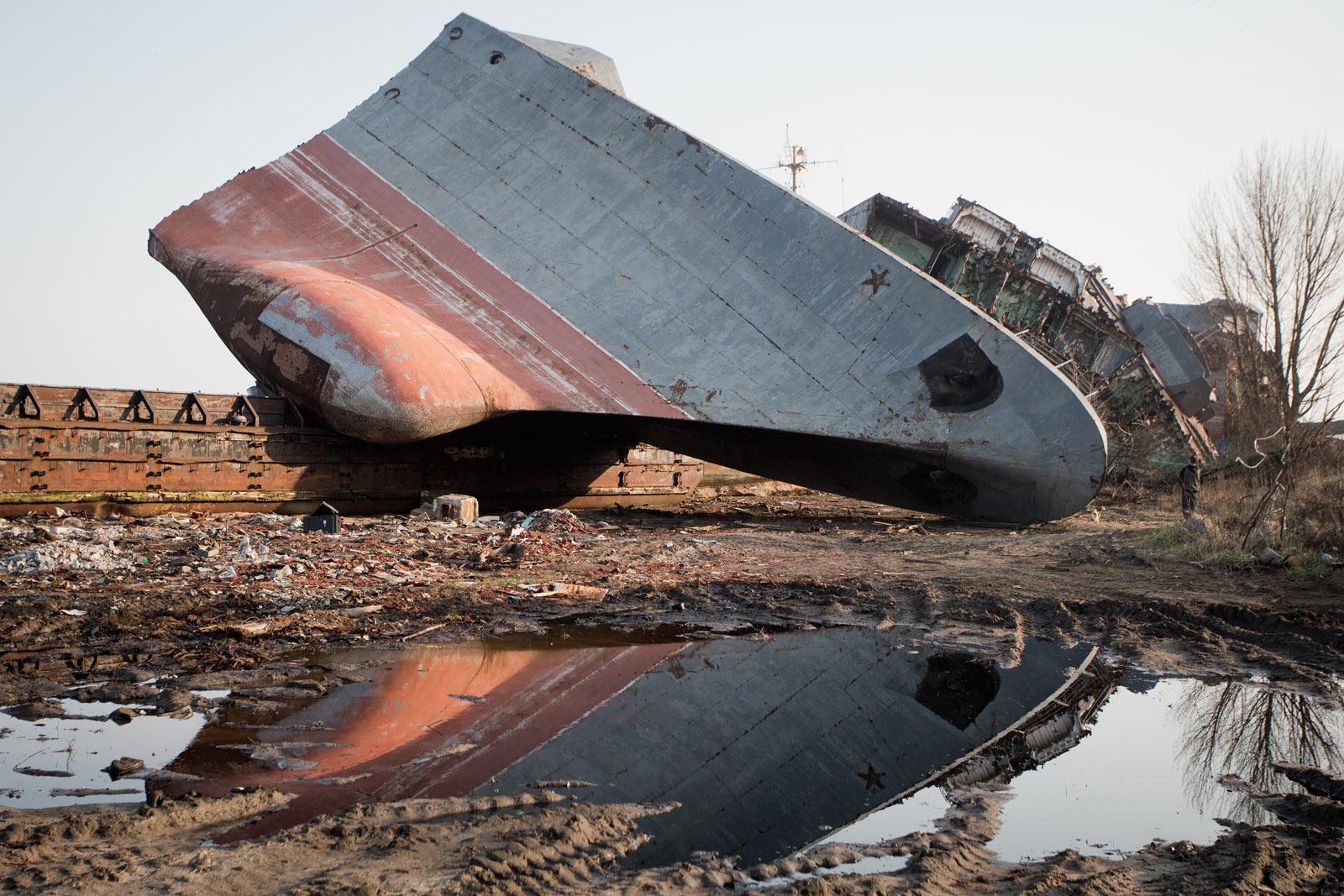 Последний причал: кладбище кораблей в Балтийске