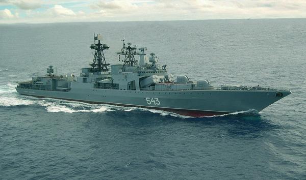 БПК «Вице-адмирал Кулаков» вернулся на Родину после двух месяцев в море