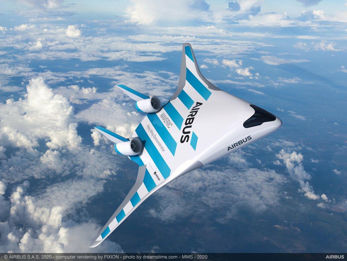 Космолет от Airbus: компания представила свой новый самолет