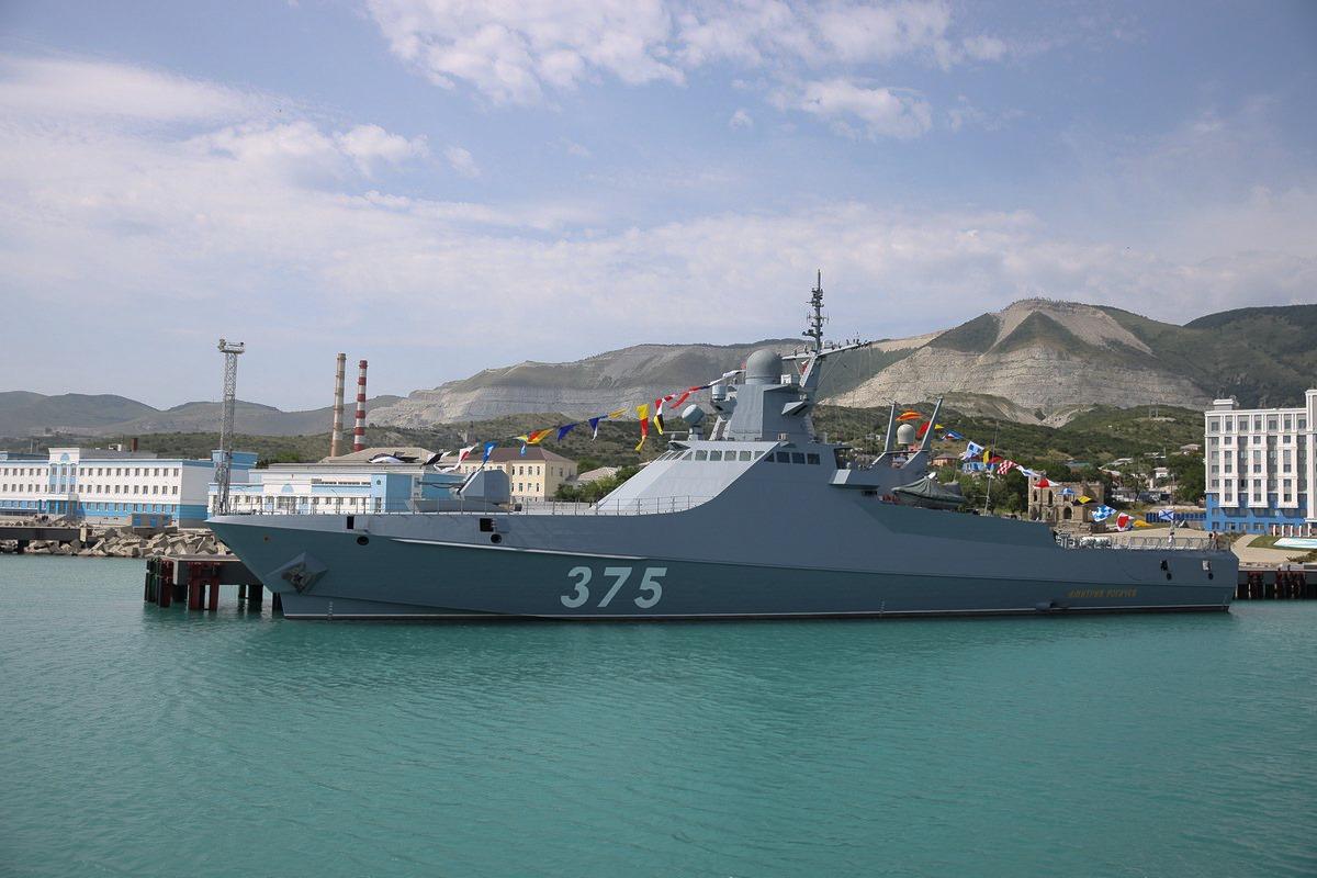 Сторожевой корабль «Сергей Котов» спустят на воду в сентябре