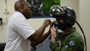 секретный американский шлем для пилотов
