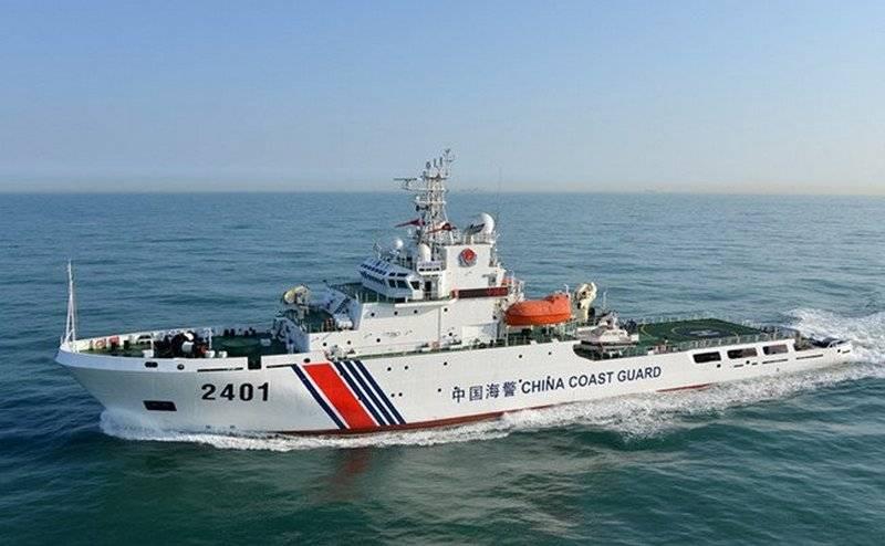 Корабль КНР потопил рыболовецкую шхуну