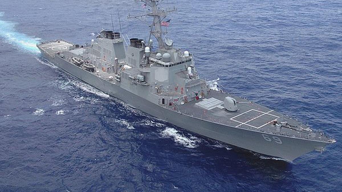 Как американцы относятся к заходу американских кораблей Баренцево море?