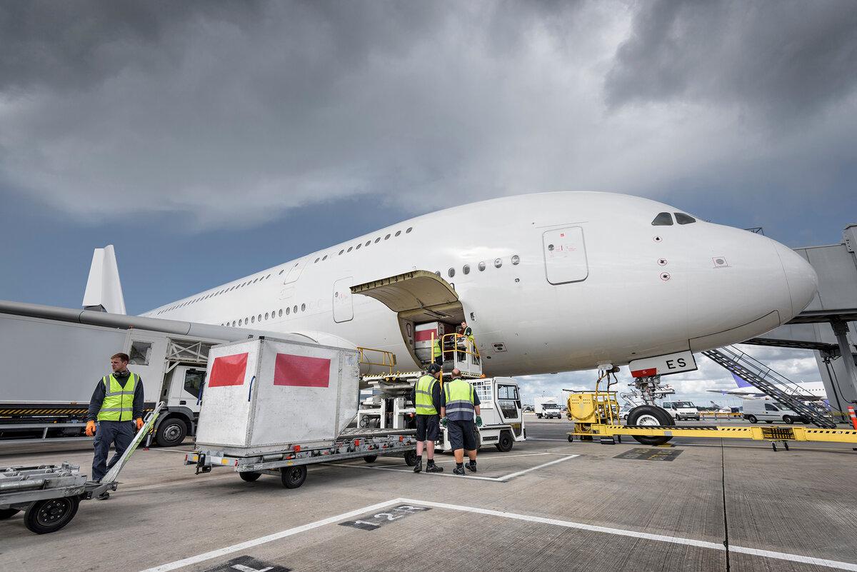 Lufthansa Technik переоборудует пассажирский A380 в грузовой